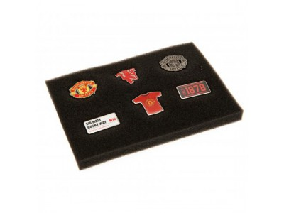 Manchester United badge sæt med 6 styk - 6 Piece Badge Set