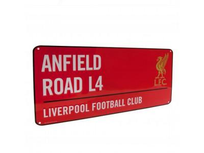 Liverpool FC gadeskilt - Street Sign RD
