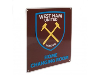 West Ham United skilt - Home Changing Room Sign