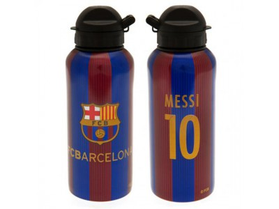 FC Barcelona alu flaske - Aluminium Drinks Bottle Messi