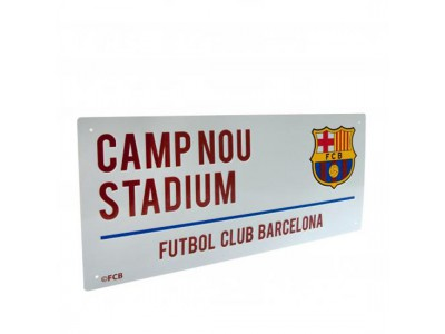 FC Barcelona skilt - Street Sign