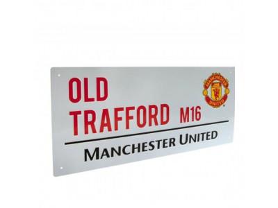 Manchester United gadeskilt - Street Sign