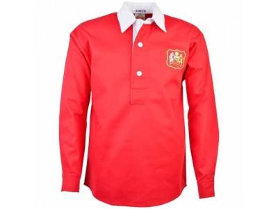 Manchester United 1940s-1950s Retro Fodboldtrøje