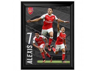 Arsenal fint tryk - Framed Print Sanchez 16 x 12