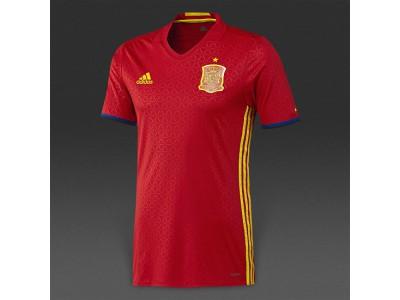 Spanien hjemme trøje autentisk EM 2016