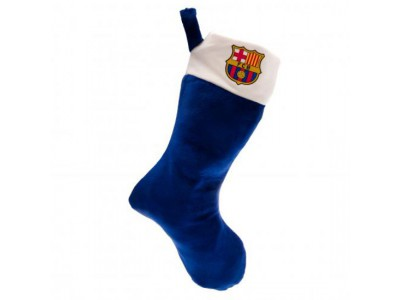 FC Barcelona julesok - Supersoft Christmas Stocking