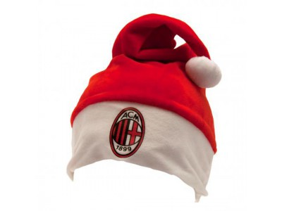 AC Milan julemandshue - Supersoft Santa Hat