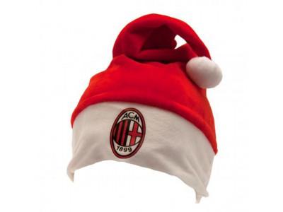 AC Milan julemandshue - Supersoft Santa Hat