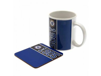 Chelsea krus bordskåner - Mug & Coaster Set