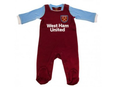 West Ham sparkedragt - Sleepsuit 9/12 Months