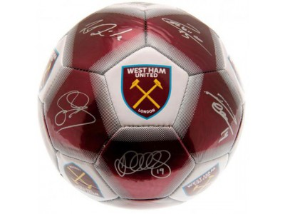 West Ham fodbold - Football Signature - str. 5