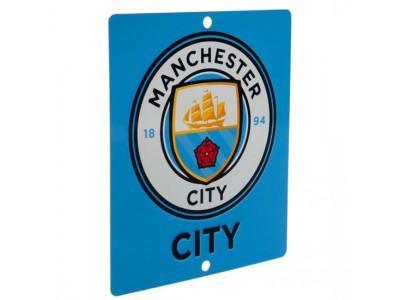 Manchester City skilt - Window Sign SQ