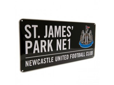 Newcastle United skilt - NUFC Street Sign BK