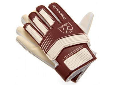 West Ham United målmandshandsker - WHFC Goalkeeper Gloves Youths - 10-12 år