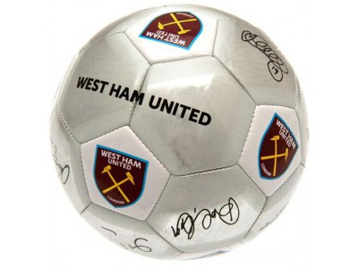 West Ham fodbold - Football Signature SV - str. 5