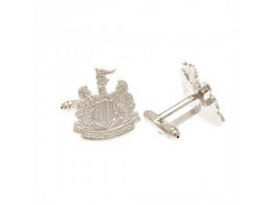 Newcastle United manchetknapper - Silver Plated Cufflinks CR