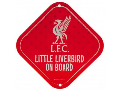 Liverpool FC skilt - Little Dribbler