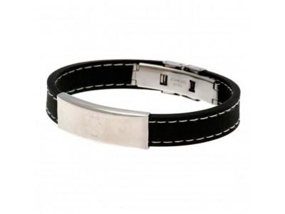 West Ham armbånd - Stitched Silicone Bracelet