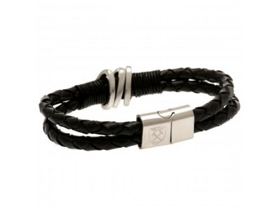 West Ham læderarmbånd - Leather Bracelet