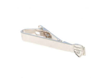 Arsenal slipseholder - Silver Plated Tie Slide