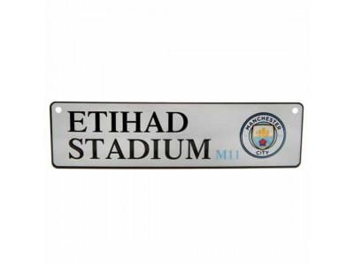 Manchester City skilt - Window Sign