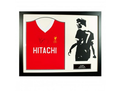 Liverpool FC Dalglish Signed Shirt Silhouette