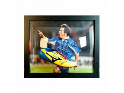 Chelsea støvle - Zola Signed Boot (Framed)