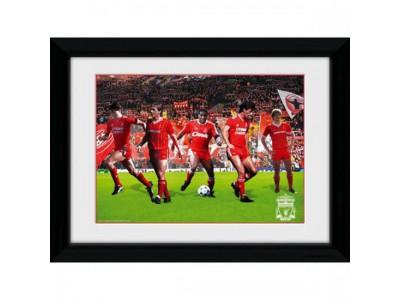 Liverpool FC billede - Picture Legends 16 x 12