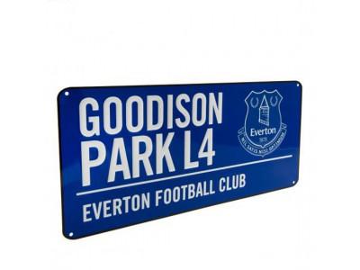 Everton skilt -  EFC Street Sign BL