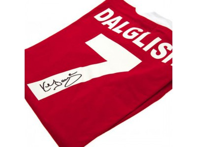 Liverpool FC Dalglish Signed Shirt