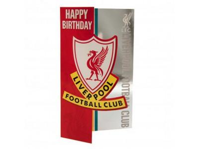 Liverpool FC fødselsdagskort - Birthday Card