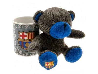 FC Barcelona Mug & Bear Set