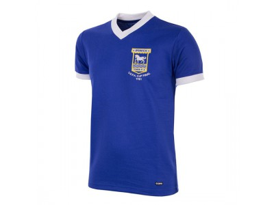 Ipswich Town 1980 - 81 retro fodboldtrøje
