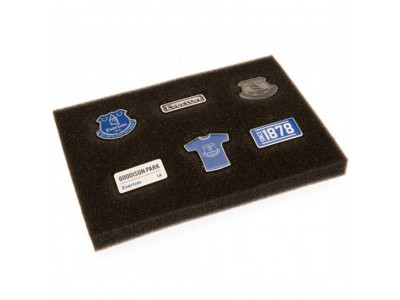 Everton badge sæt - EFC 6 Piece Badge Set