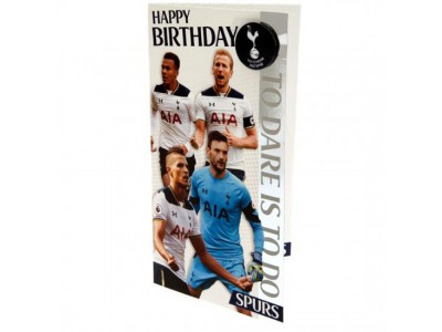 Tottenham fødselsdagskort - Birthday Card Players