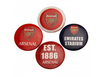 Arsenal knap badge sæt - Button Badge Set