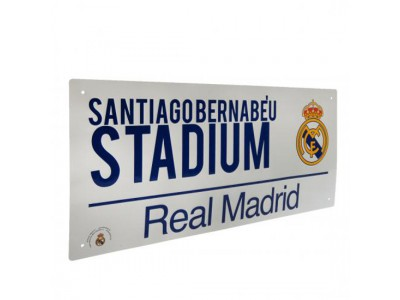 Real Madrid gadeskilt - Street Sign