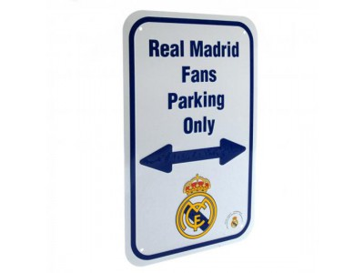 Real Madrid skilt - No Parking Sign