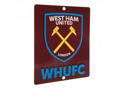 West Ham United vindues skilt - Window Sign SQ