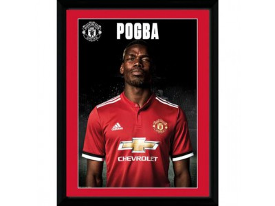 Manchester United billede - Picture Pogba Profile - 16 x 12