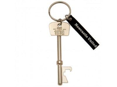 Newcastle United flaskeåbner - Bottle Opener Keyring Key