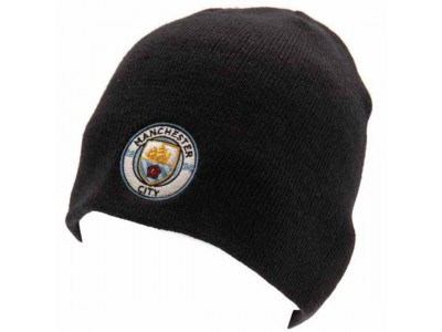Manchester City strikhue - Knitted Hat NV