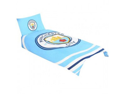 Manchester City sengetøj - Single Duvet Set PL