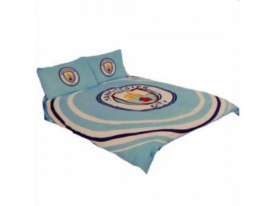 Manchester City sengetøj dobbelt - Double Duvet Set PL