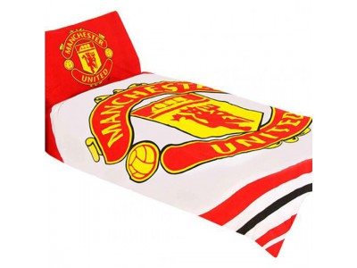 Manchester United sengetøj - MUFC Single Duvet Set PL