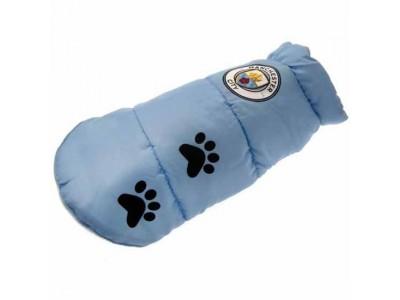 Manchester City hunde jakke - Dog Coat - Medium