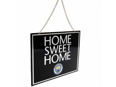 Manchester City skilt - Home Sweet Home Sign