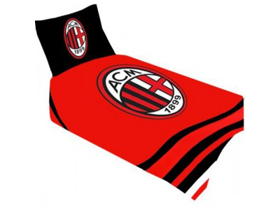 AC Milan sengetøj - ACM Single Duvet Set PL