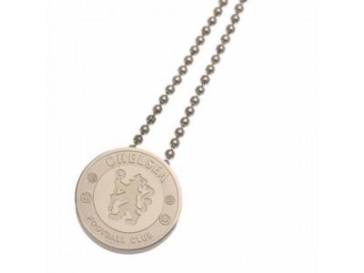Chelsea emblem og kæde sæt - Stainless Steel Pendant & Chain