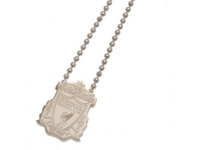 Liverpool FC rustfri stål kæde og skilt -  Stainless Steel Pendant & Chain